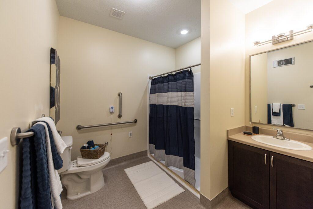 Model - 1 BR bathroom