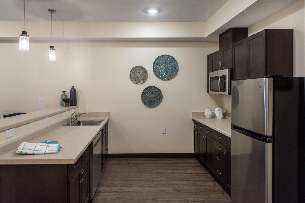 Model - 1 BR kitchen