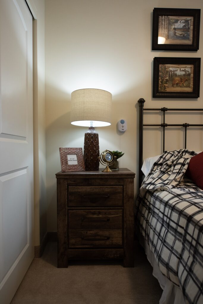 Model - 1 BR showing nurse call feature