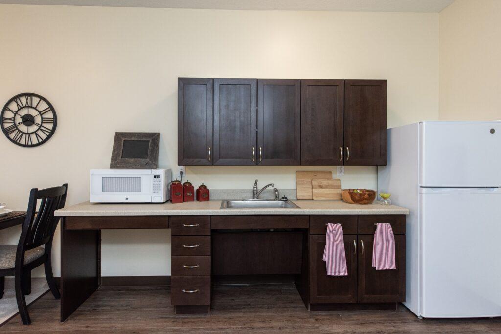 Model - AL Studio kitchenette