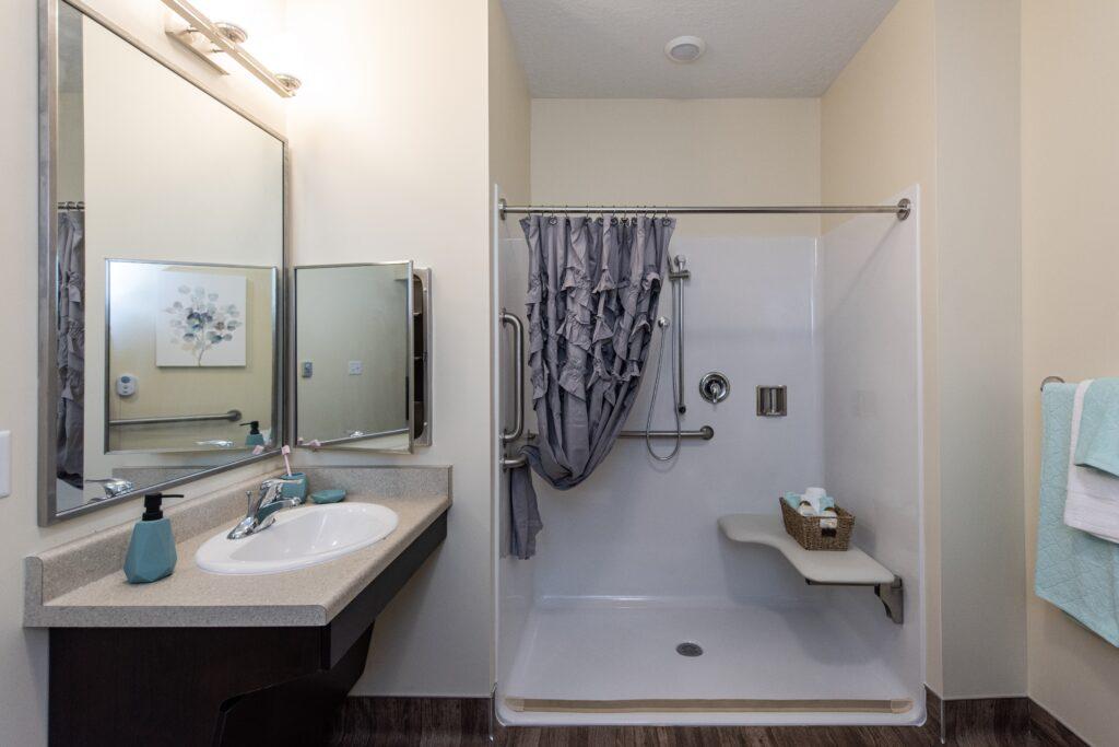 Model - Studio bathroom
