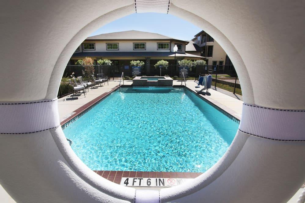 Pool through ring